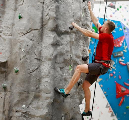 Clymb Abu Dhabi Indoor Climbing Location