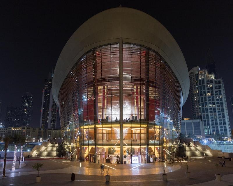 Dubai Opera Architecture Tour Location