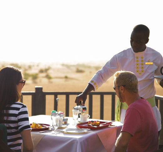 Conservation Drive with Breakfast at Al Maha