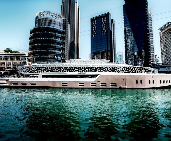 Mega Yacht Dinner Cruise Location