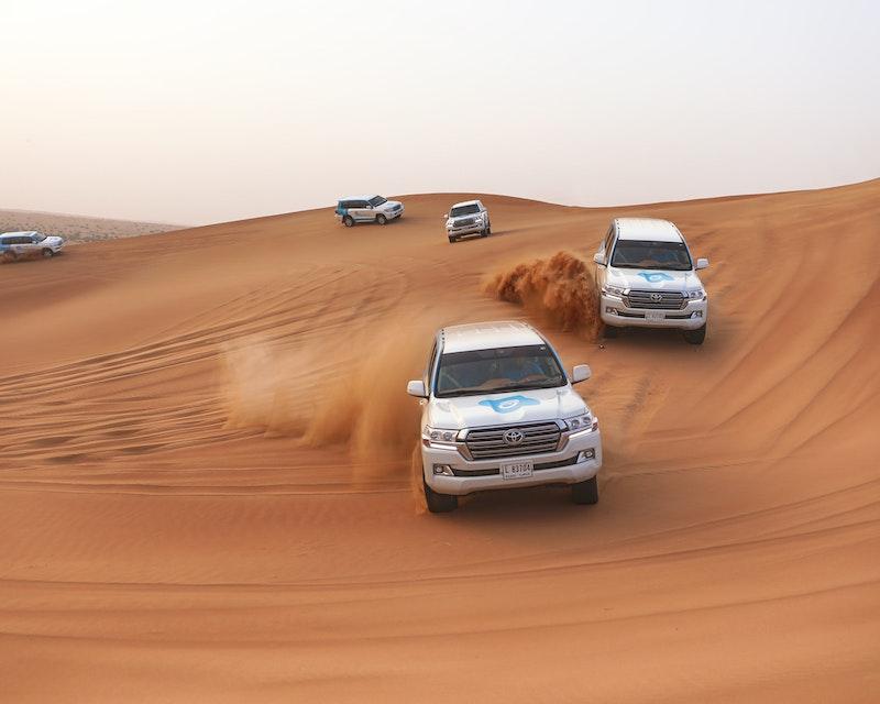 Premium Red Dunes Desert Safari Dubai with BBQ at Al Khayma Camp Ticket