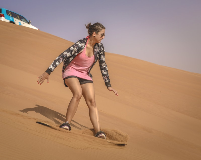 Premium Red Dunes by Quad Bike, Camel Ride, Sandboarding and BBQ Category