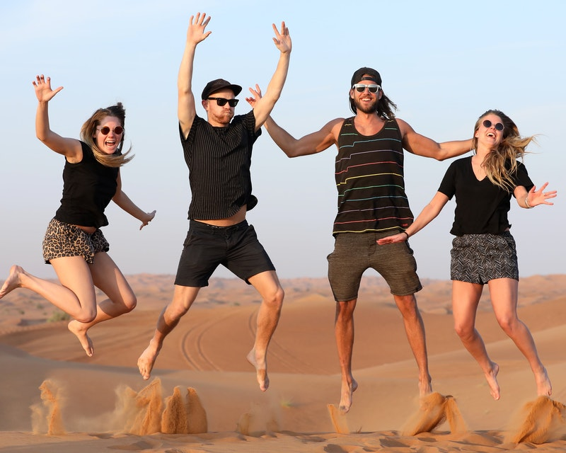 Premium Red Dunes by Quad Bike, Camel Ride, Sandboarding and BBQ