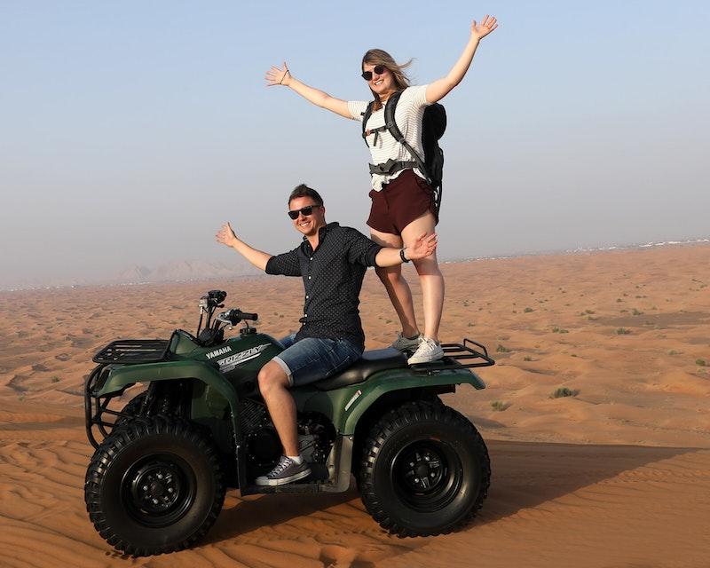 Premium Morning Quad Bike Sandboarding and Camel Ride Category