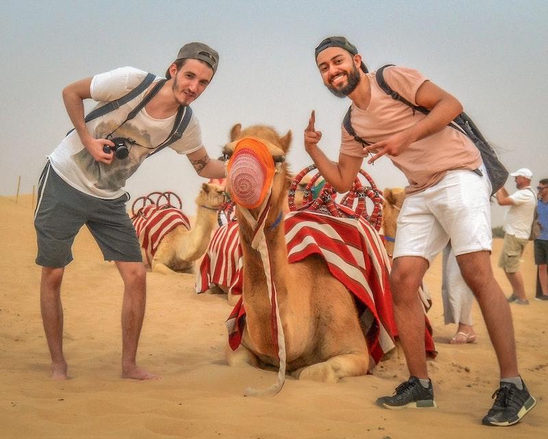 Premium Morning Quad Bike Sandboarding and Camel Ride Tripx Tours
