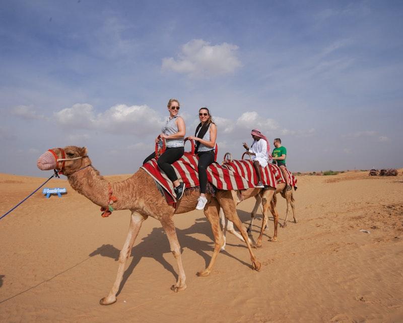 Morning Desert Safari Dubai: Dune Bashing, Sand Boarding, Camel Ride with Brunch Price