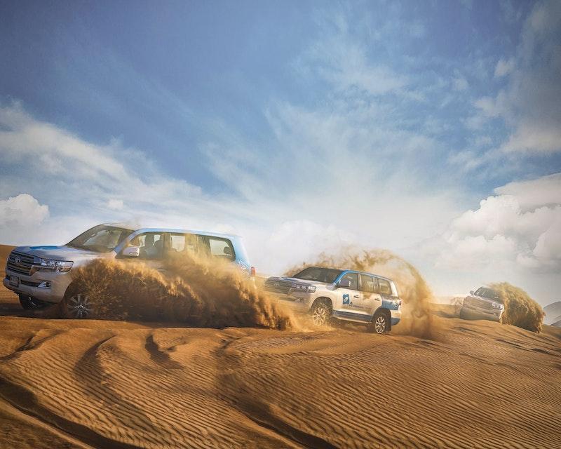 Morning Desert Safari Dubai: Dune Bashing, Sand Boarding, Camel Ride with Brunch Review