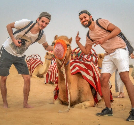 Morning Desert Safari Dubai: Dune Bashing, Sand Boarding, Camel Ride with Brunch Tripx Tours