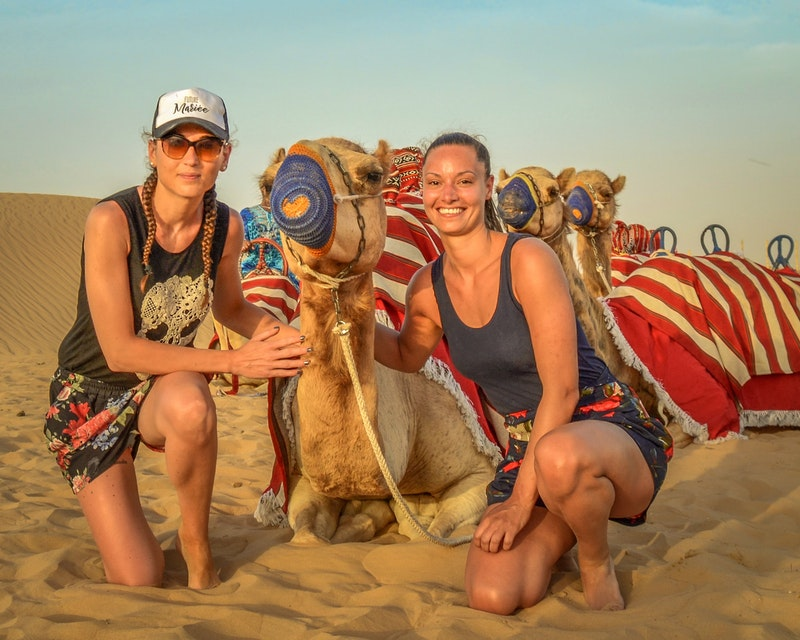 Sunset Camel Trekking With BBQ Dinner Review
