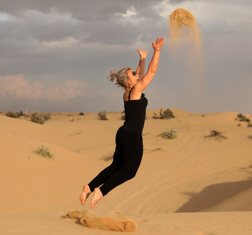 Sunset Camel Trekking With BBQ Dinner Price