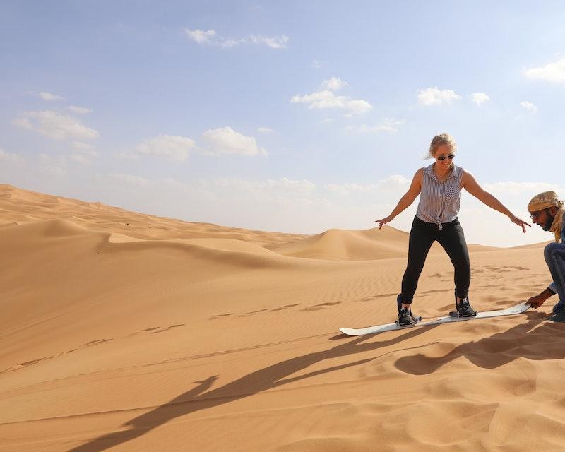 Overnight Red Dune Desert Safari with Dune Bashing BBQ & Breakfast Review