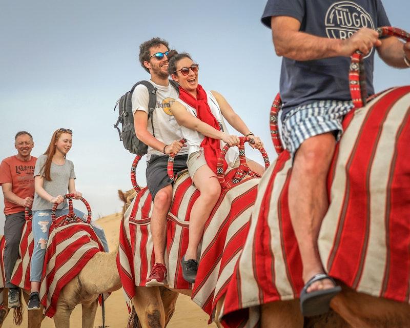 Overnight Red Dune Desert Safari with Dune Bashing BBQ & Breakfast Location