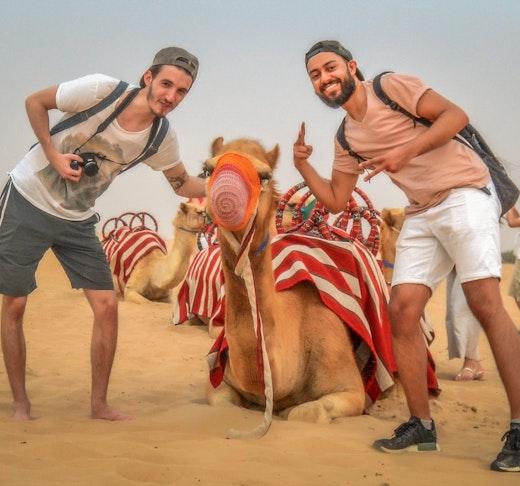 Sunrise Camel Trek With Breakfast Discount