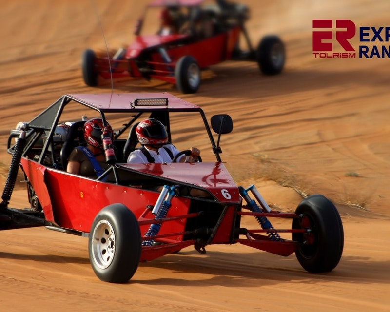 1 Seater Self Drive Dune Buggy Safari with Pickup and Drop Off Price