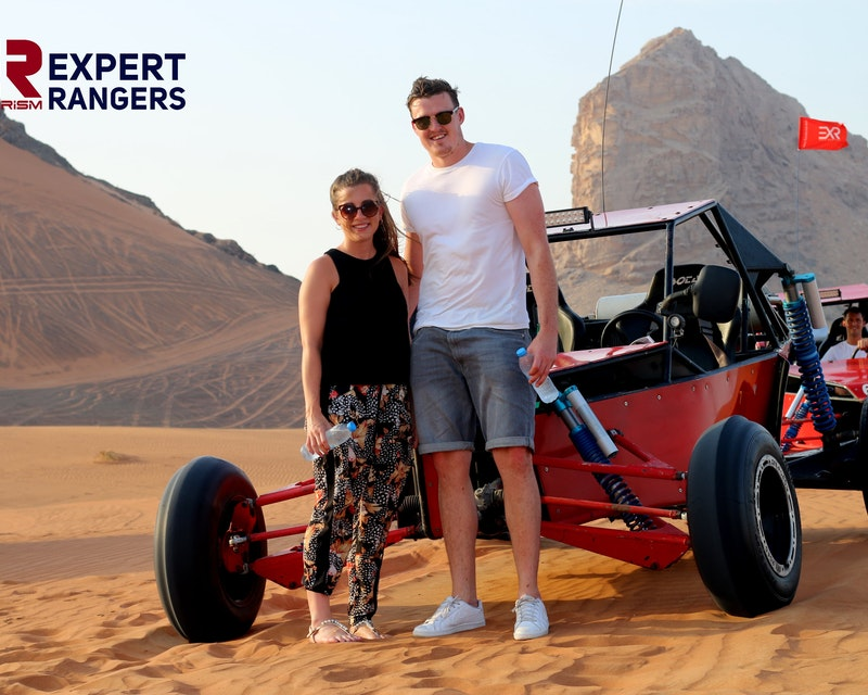 1 Seater Self Drive Dune Buggy Safari with Pickup and Drop Off Location