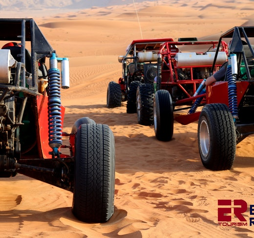 1 Seater Self Drive Dune Buggy Safari with Pickup and Drop Off