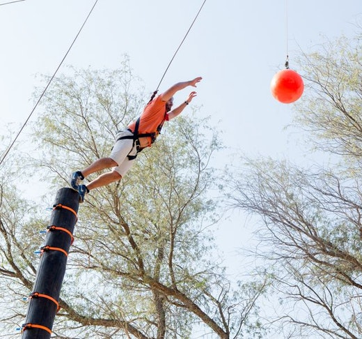 Aventura Parks Leap of Faith 30 minutes Experience Price