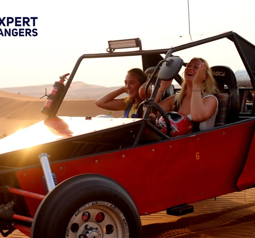 1 Seater Self-Drive Dune Buggy Safari with BBQ Dinner