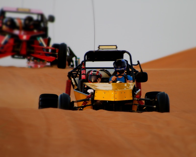 1 Seater Self-Drive Dune Buggy Safari with BBQ Dinner Ticket
