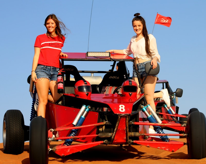 2 Seater Self-Drive Dune Buggy Safari with BBQ Dinner
