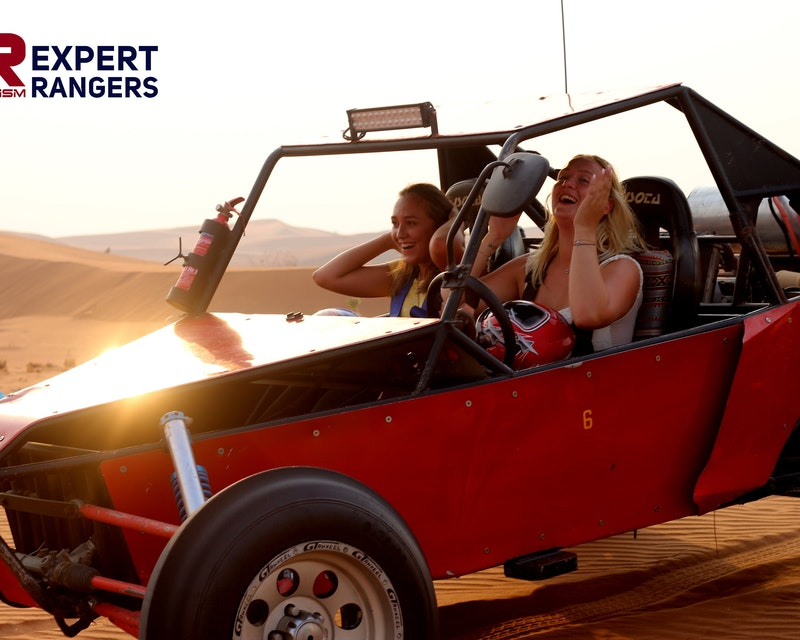 2 Seater Self-Drive Dune Buggy Safari with BBQ Dinner Price