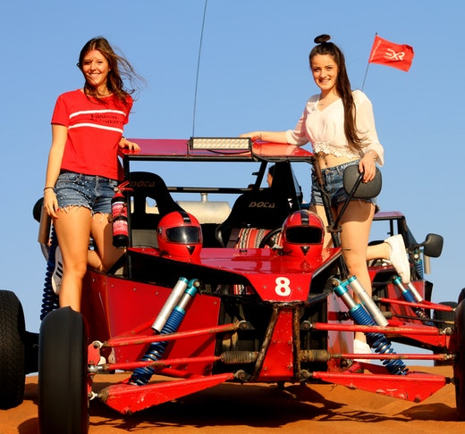 2 Seater Self-Drive Dune Buggy Safari with Pickup and Drop Off Ticket
