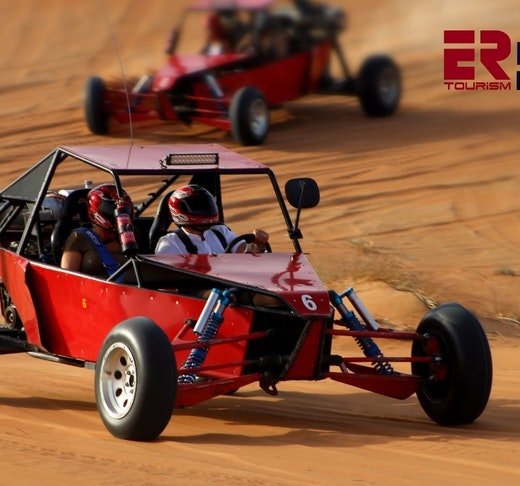 2 Seater Self-Drive Dune Buggy Safari with Pickup and Drop Off Price