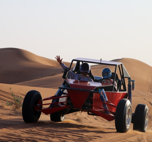 2 Seater Self-Drive Dune Buggy Safari with Pickup and Drop Off