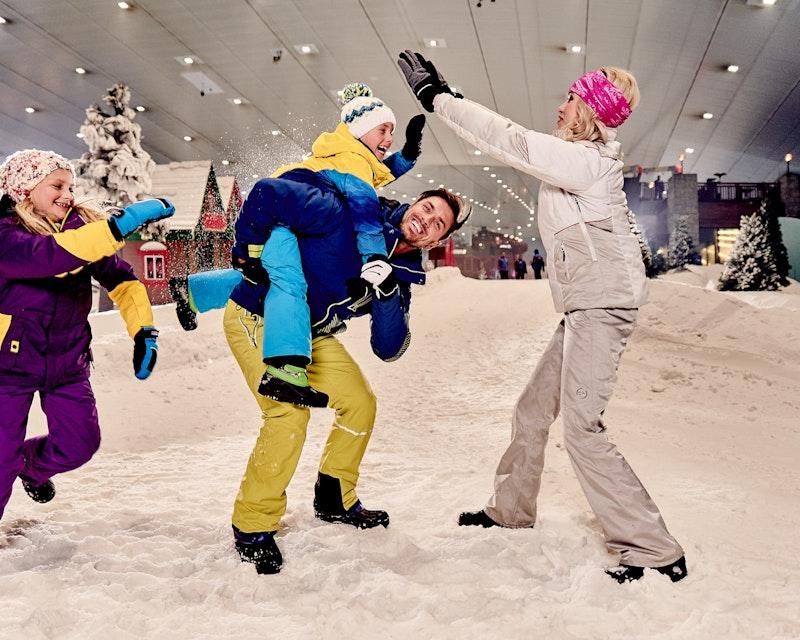Ski Dubai: Snow Plus Pass Location