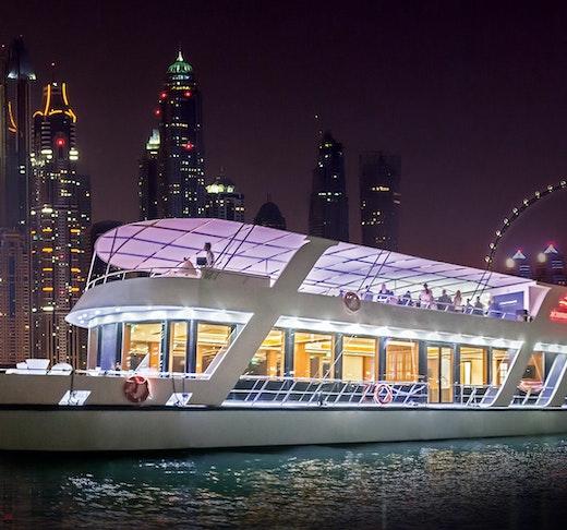 Luxury Marina Dinner Cruise