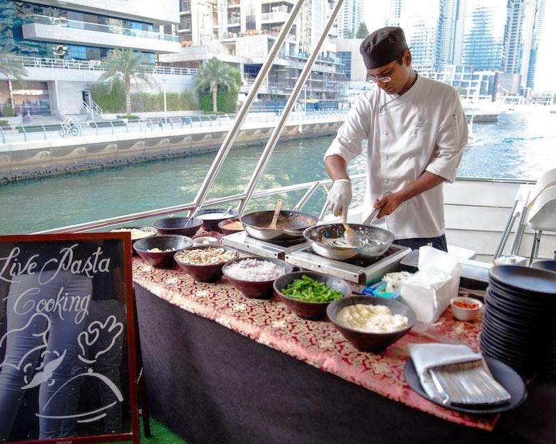 Luxury Marina Dinner Cruise Ticket