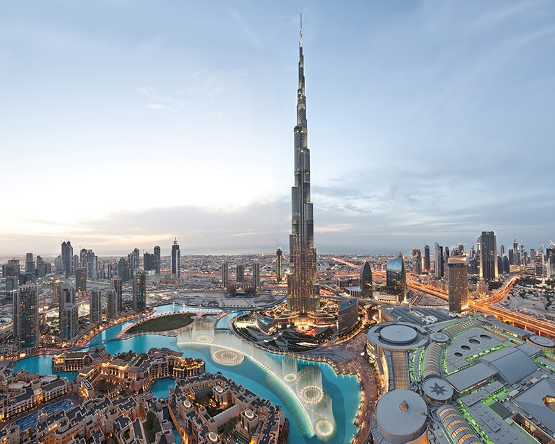 Dine experience at Burj Khalifa - Atmosphere with Discover Dubai by Night Location