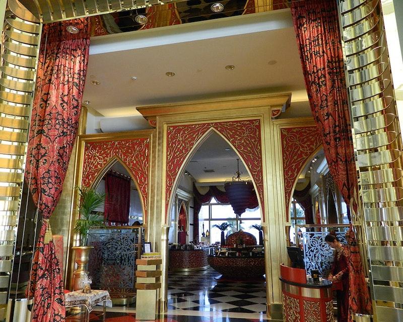Discover Dubai by night and dine at Burj Al Arab-Al Iwan Tripx Tours