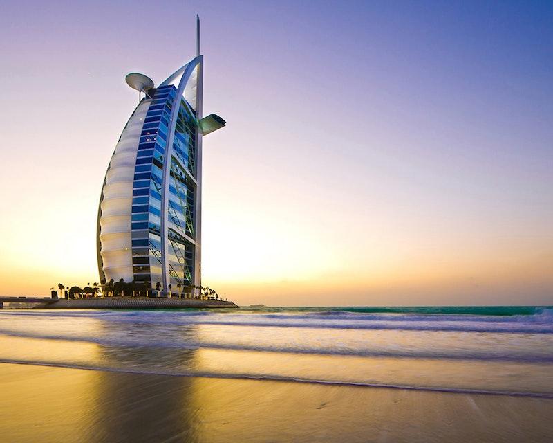 Discover Dubai by night and dine at Burj Al Arab-Al Iwan Discount