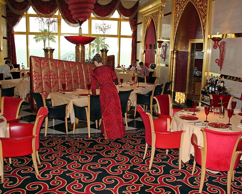 Discover Dubai by night and dine at Burj Al Arab-Al Iwan Price