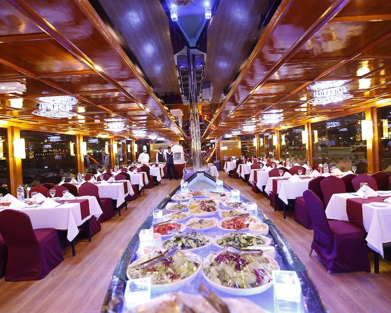 Sunset Dinner Dhow Cruise at Dubai Marina Tripx Tours