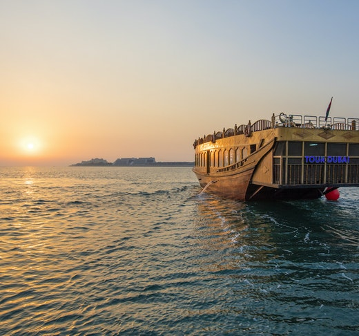 Sunset Dinner Dhow Cruise at Dubai Marina Price