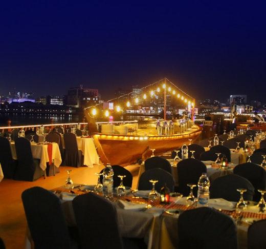 Royal Dinner Dhow Cruise at Dubai Creek Ticket