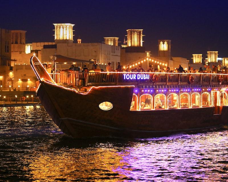 Royal Dinner Dhow Cruise at Dubai Creek