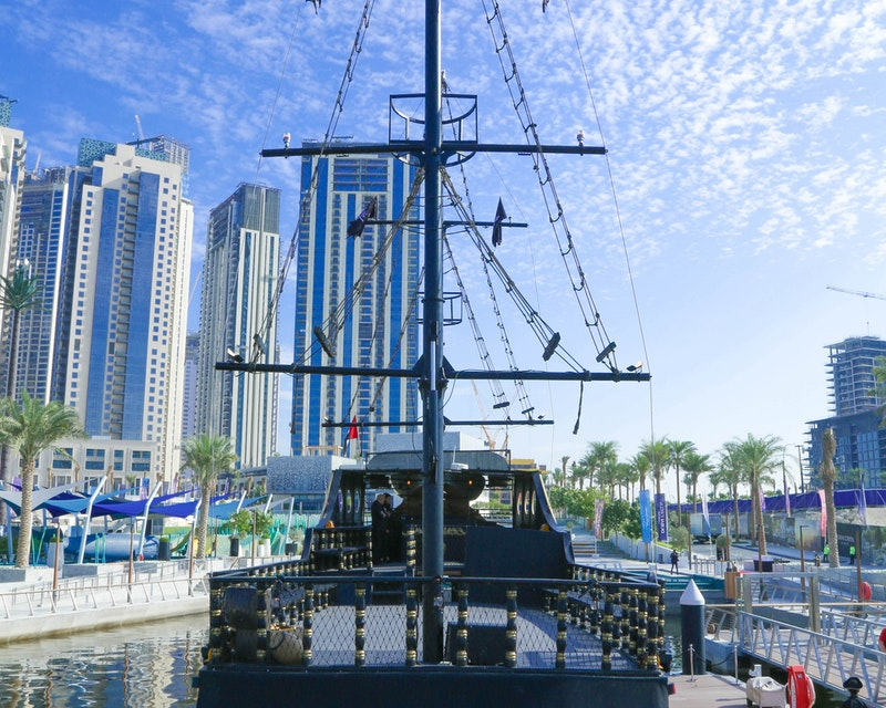 Pirate Brunch and Swim at Dubai Canal Category