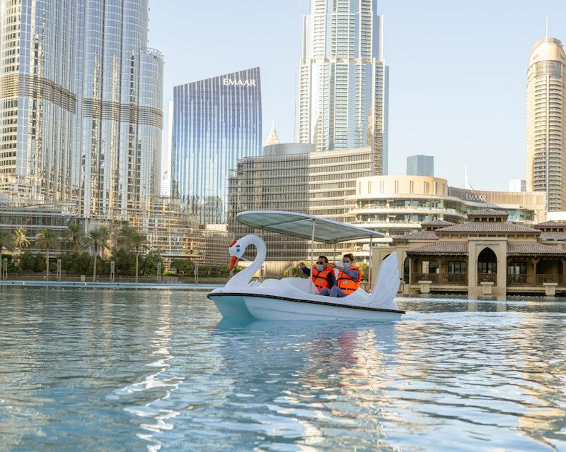 Dubai Fountain Pedal Swan Boats Discount
