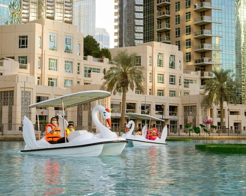Dubai Fountain Pedal Swan Boats Price