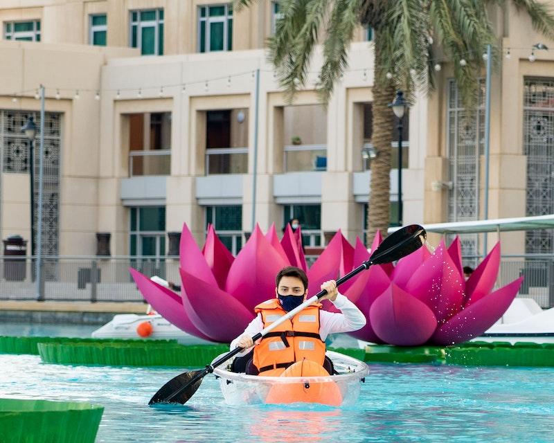 Dubai Fountain Kayaking Adventure Price