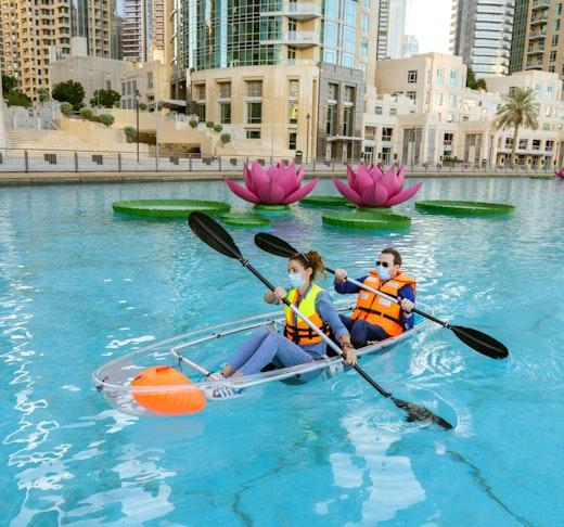 Dubai Fountain Kayaking Adventure Location