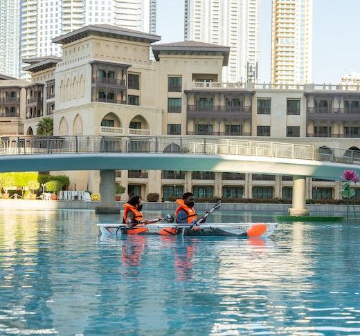 Dubai Fountain Kayaking Adventure