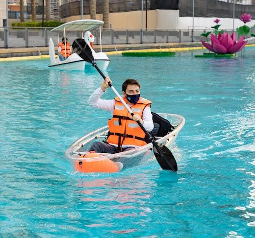 Dubai Fountain Kayaking Adventure Discount