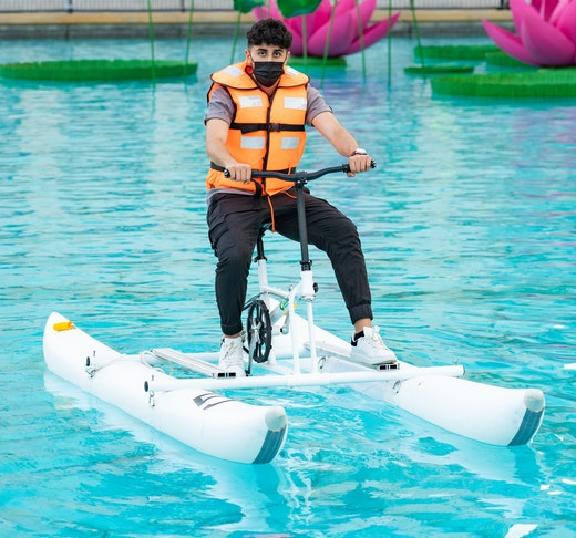 Dubai Fountain Water Bikes  Discount