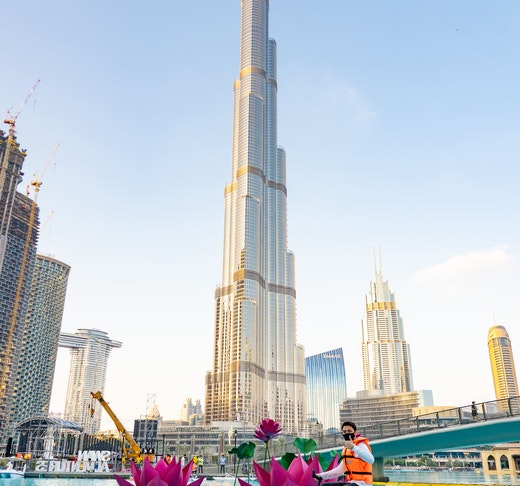 Dubai Fountain Water Bikes  Ticket