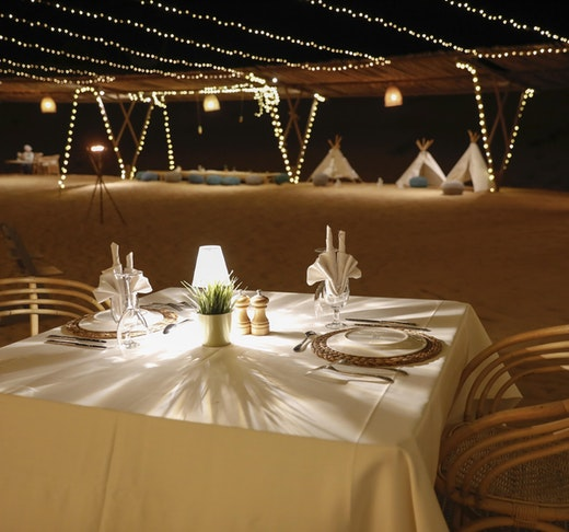 Sonara Camp: Sunset and Dinner Experience