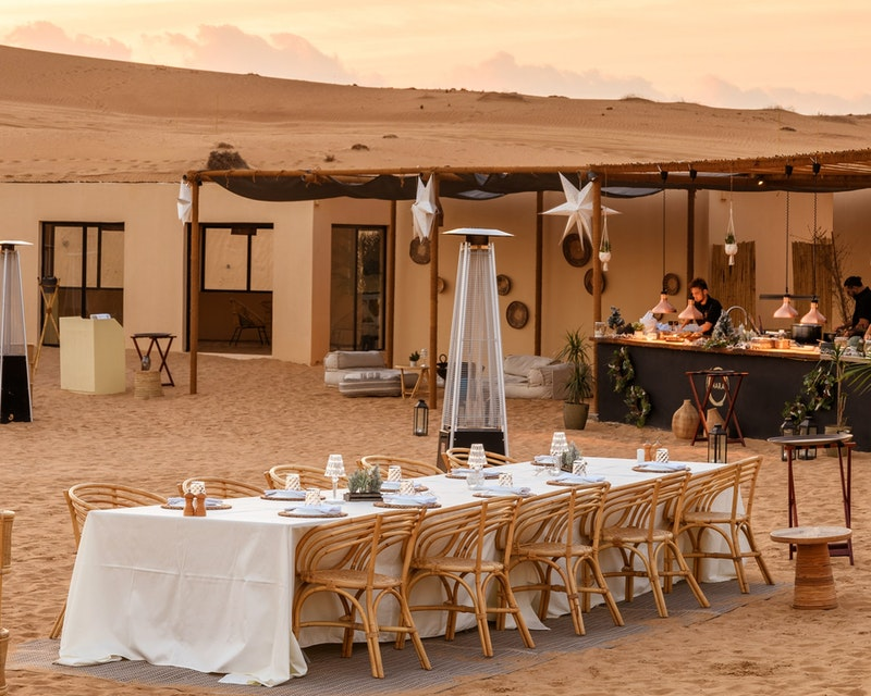 Sonara Camp: Sunset and Dinner Experience  Location